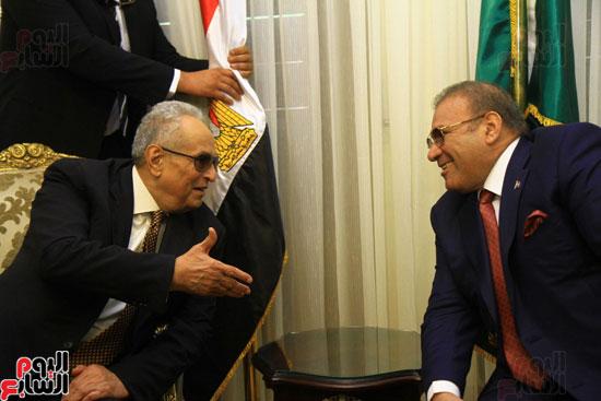 احتفالية بحزب الوفد لتكريم حسن راتب (17)