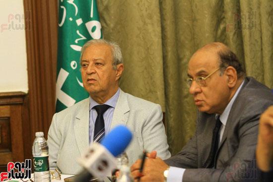 احتفالية بحزب الوفد لتكريم حسن راتب (5)