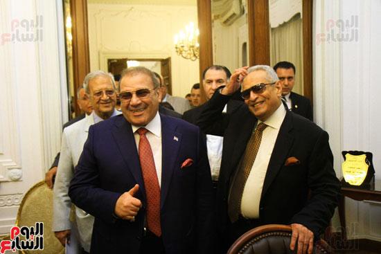 احتفالية بحزب الوفد لتكريم حسن راتب (15)