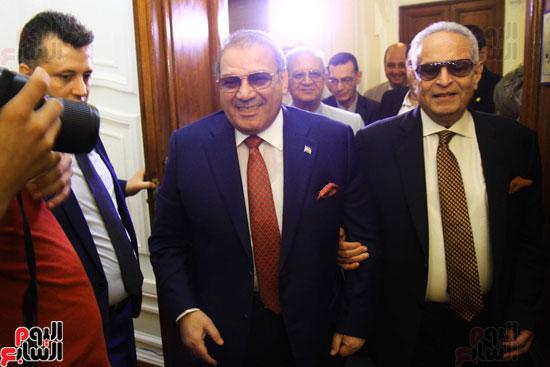 احتفالية بحزب الوفد لتكريم حسن راتب (7)