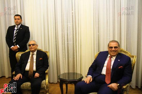 احتفالية بحزب الوفد لتكريم حسن راتب (6)