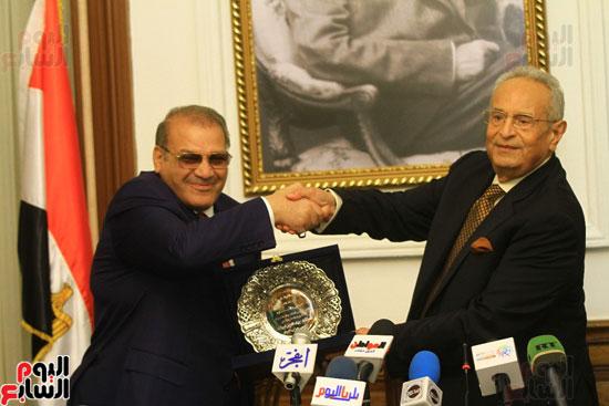 احتفالية بحزب الوفد لتكريم حسن راتب (18)