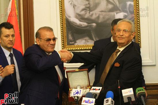 احتفالية بحزب الوفد لتكريم حسن راتب (3)