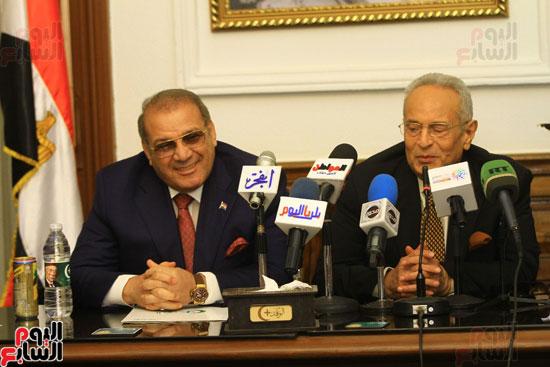 احتفالية بحزب الوفد لتكريم حسن راتب (10)