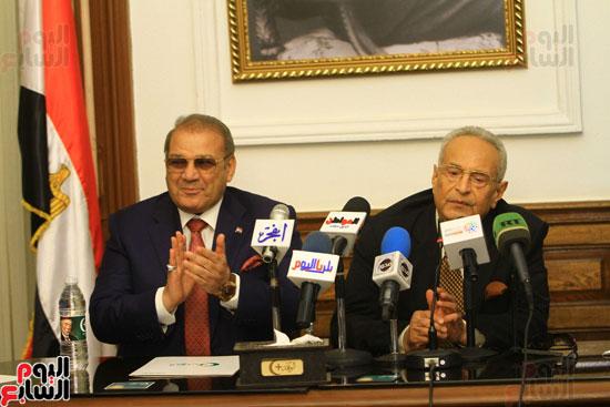 احتفالية بحزب الوفد لتكريم حسن راتب (20)