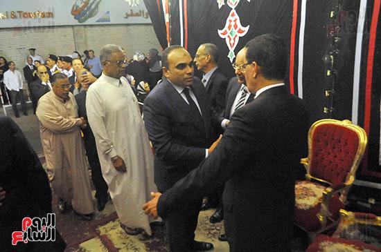 رئيس محكمة استئناف القاهرة يتلقى العزاء فى وزير العدل الأسبق (16)