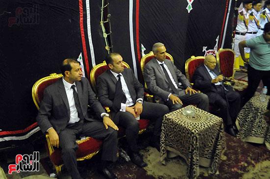 رئيس محكمة استئناف القاهرة يتلقى العزاء فى وزير العدل الأسبق (9)