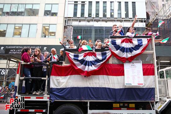 عروض فنية وعسكرية خلال احتفالات يوم كولومبوس فى الولايات المتحدة (3)