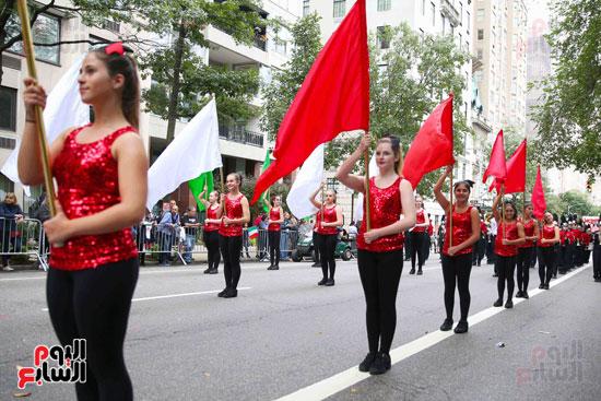 عروض فنية وعسكرية خلال احتفالات يوم كولومبوس فى الولايات المتحدة (11)
