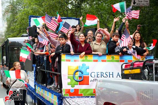 عروض فنية وعسكرية خلال احتفالات يوم كولومبوس فى الولايات المتحدة (30)