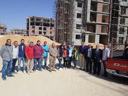 لفوج الرابع من طلاب جامعة عين شمس فى زيارة مشروع سكن مصر (3)