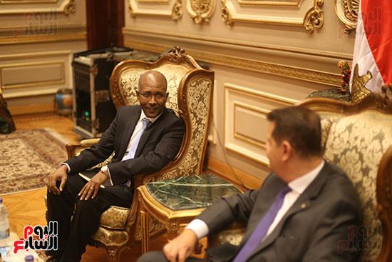 لقاء لجنة الشئوة الافريقية بسفير اثيوبيا (4)