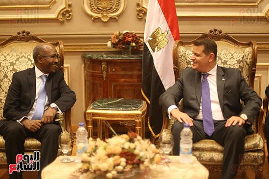لقاء لجنة الشئوة الافريقية بسفير اثيوبيا (7)