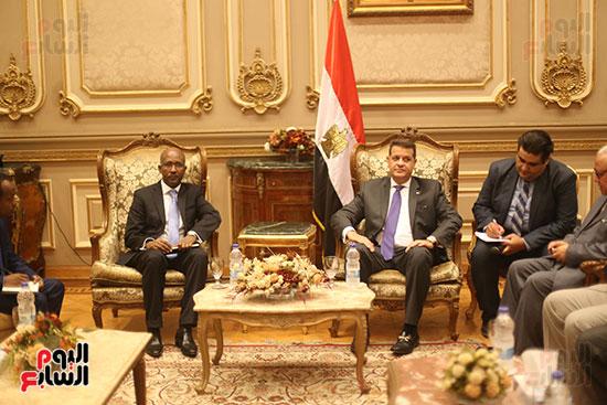 لقاء لجنة الشئوة الافريقية بسفير اثيوبيا (6)