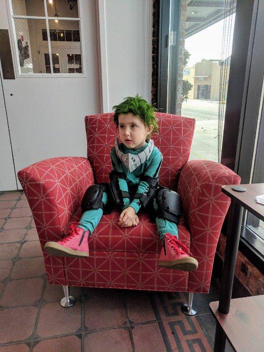 الأطفال فى أزياء الهالوين (2)