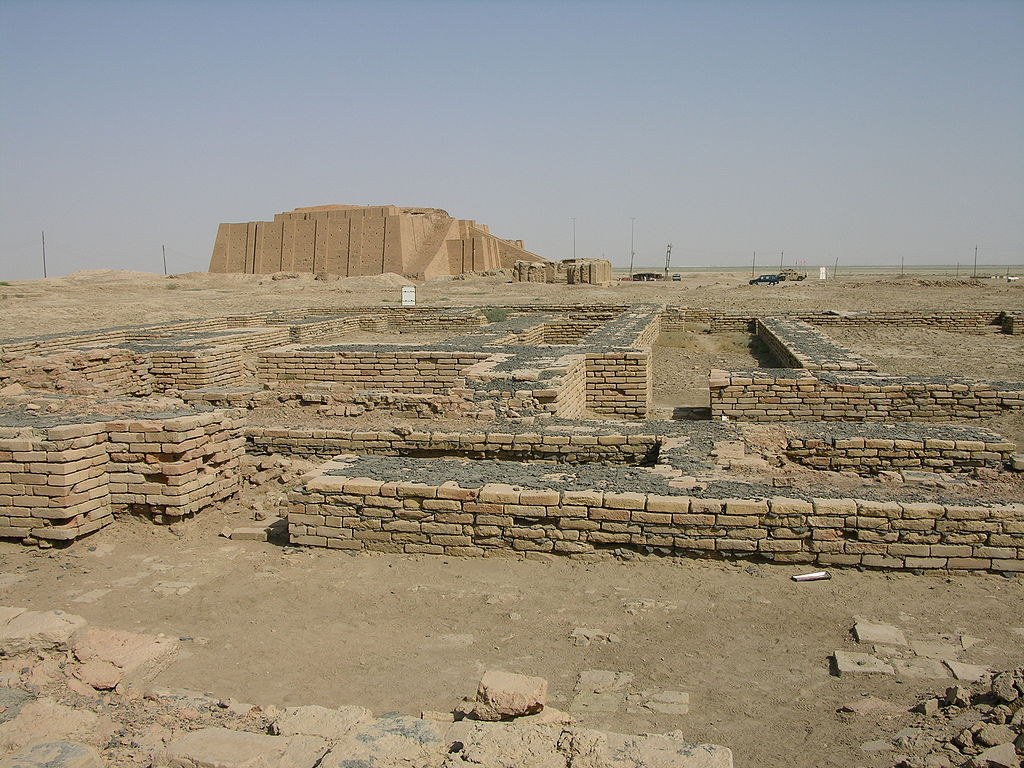 أطلال مدينة أور حيث يعتقد أن إبراهيم ولد فيها