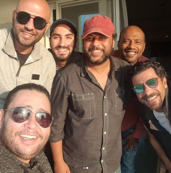 صور أحمد رزق يكشف كواليس تصوير فيلم الممر اليوم السابع