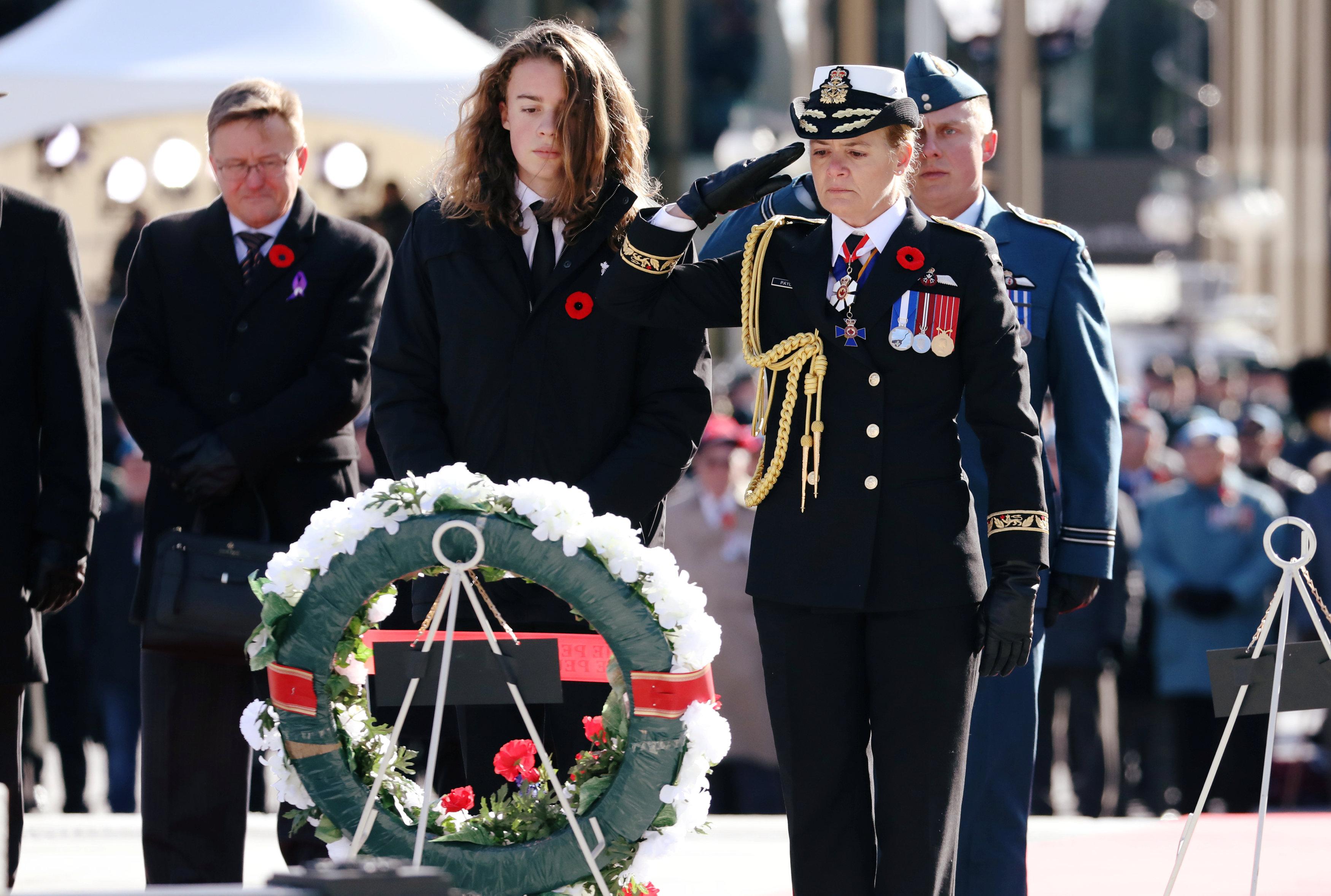 قادة العالم يحيون ذكرى ضحايا الحرب العالمية (10)