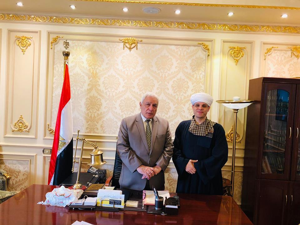 محمود ياسين التهامى والنائب أسامة العبد رئيس اللجنة الدينية