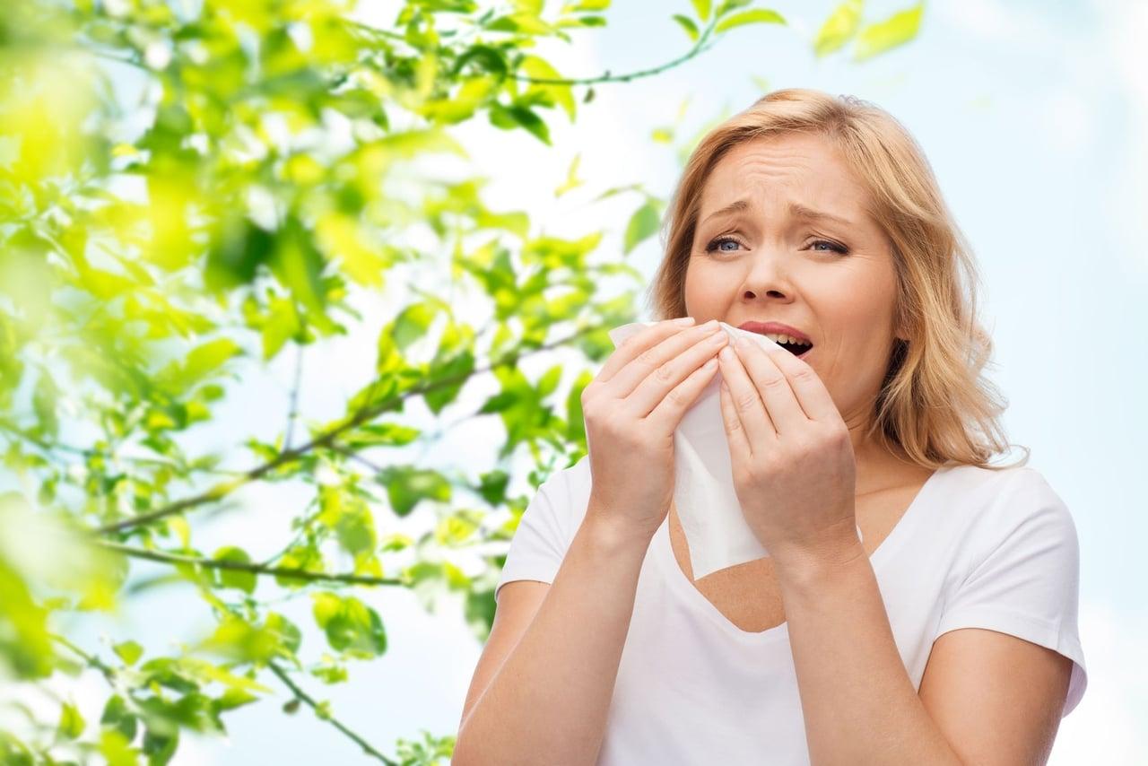 اعراض حساسية الانف