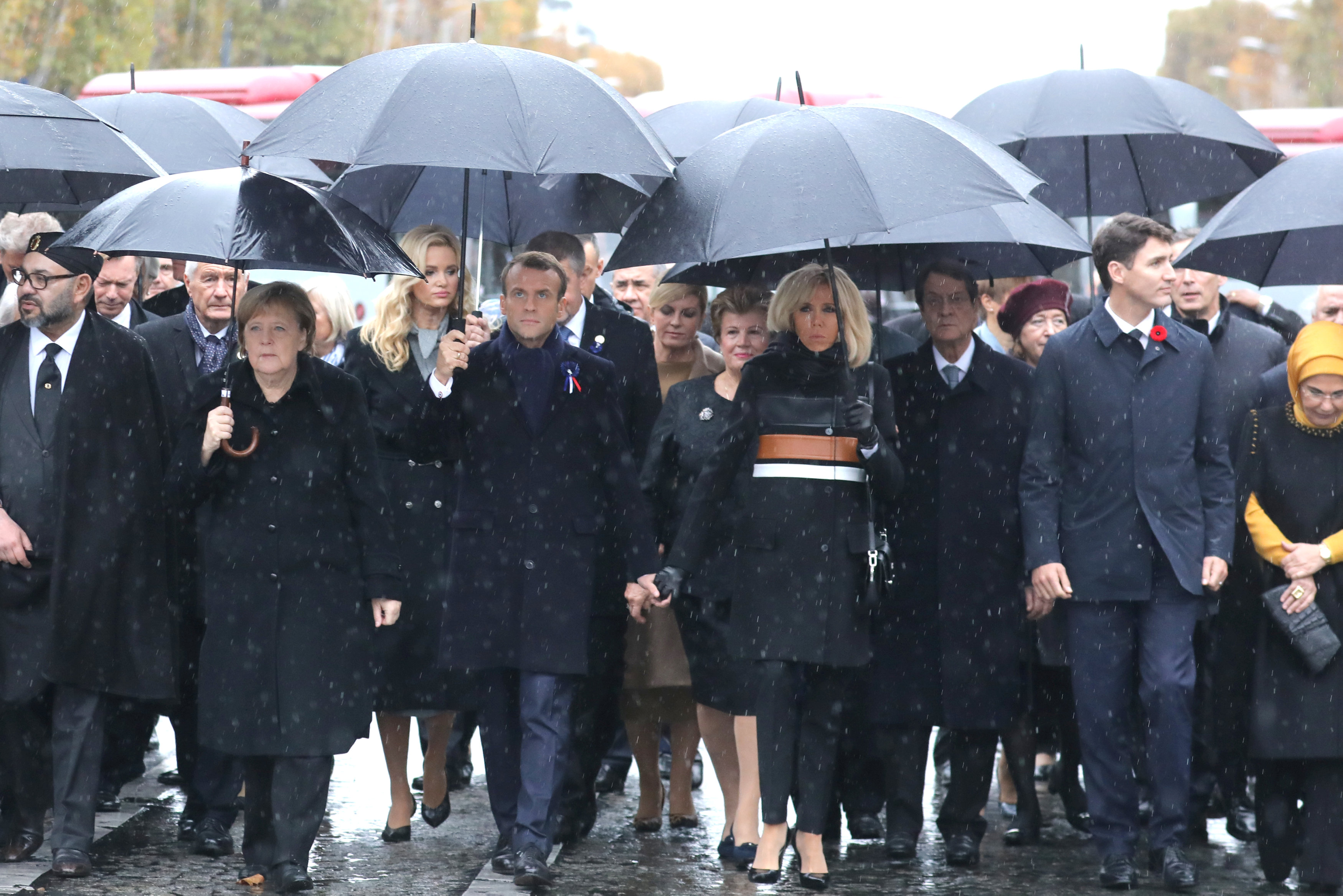 قادة العالم يحيون ذكرى ضحايا الحرب العالمية (3)
