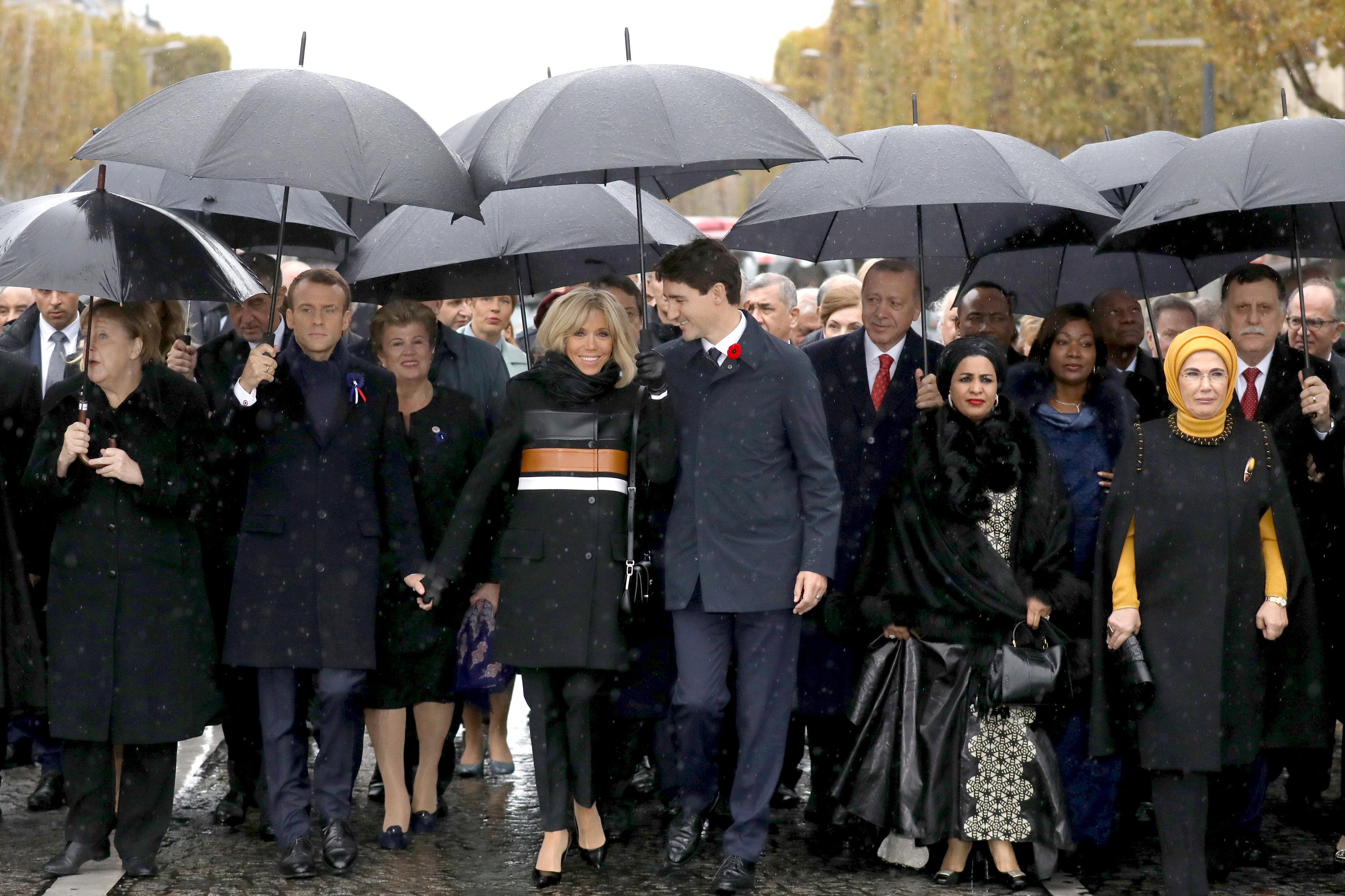 قادة العالم يحيون ذكرى ضحايا الحرب العالمية (4)