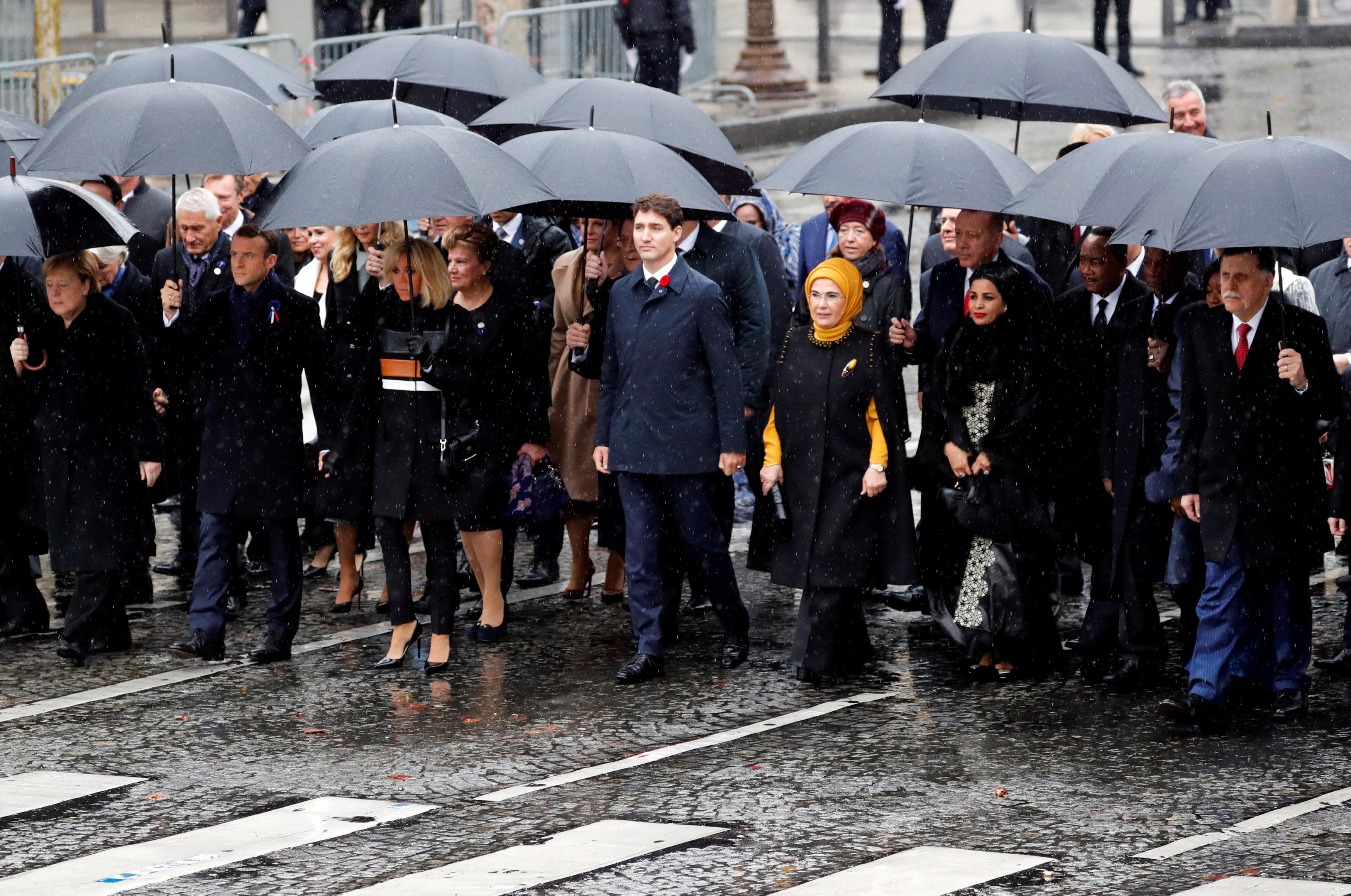 قادة العالم يحيون ذكرى ضحايا الحرب العالمية (5)