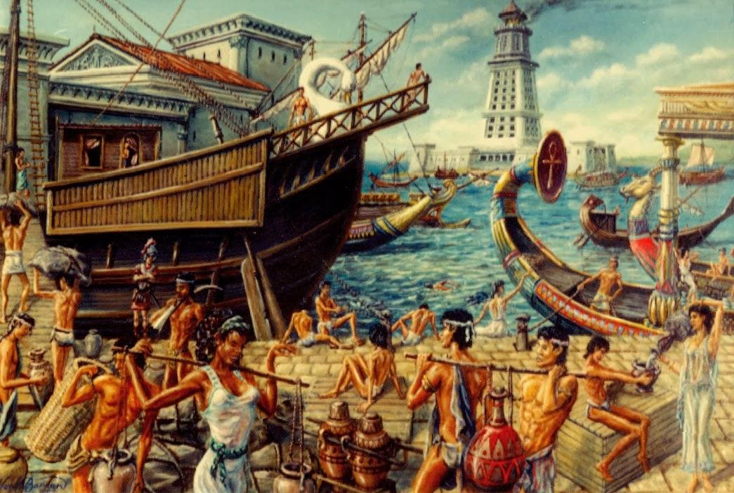 لوحة توضح معاناة الصريين فى العصر الرومانى