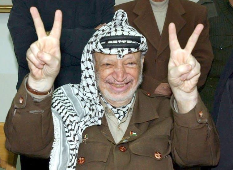 الرئيس الفلسطينى ياسر عرفات