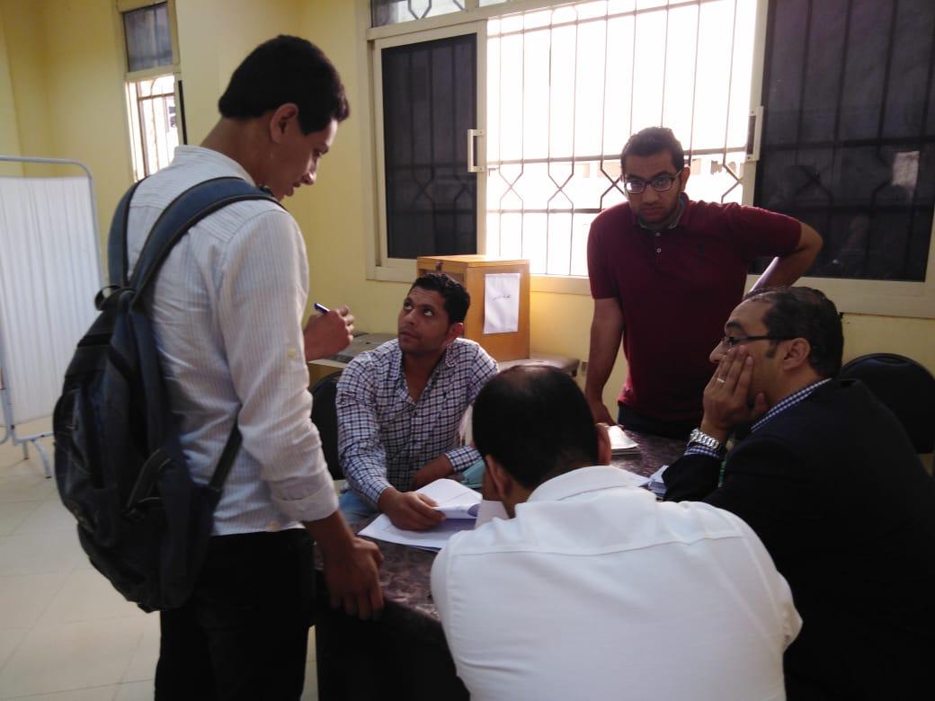 انتخابات اتحاد طلاب جامعة الفيوم (6)
