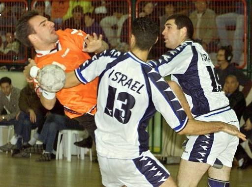 لاعبو كرة اليد الإسرائيليون