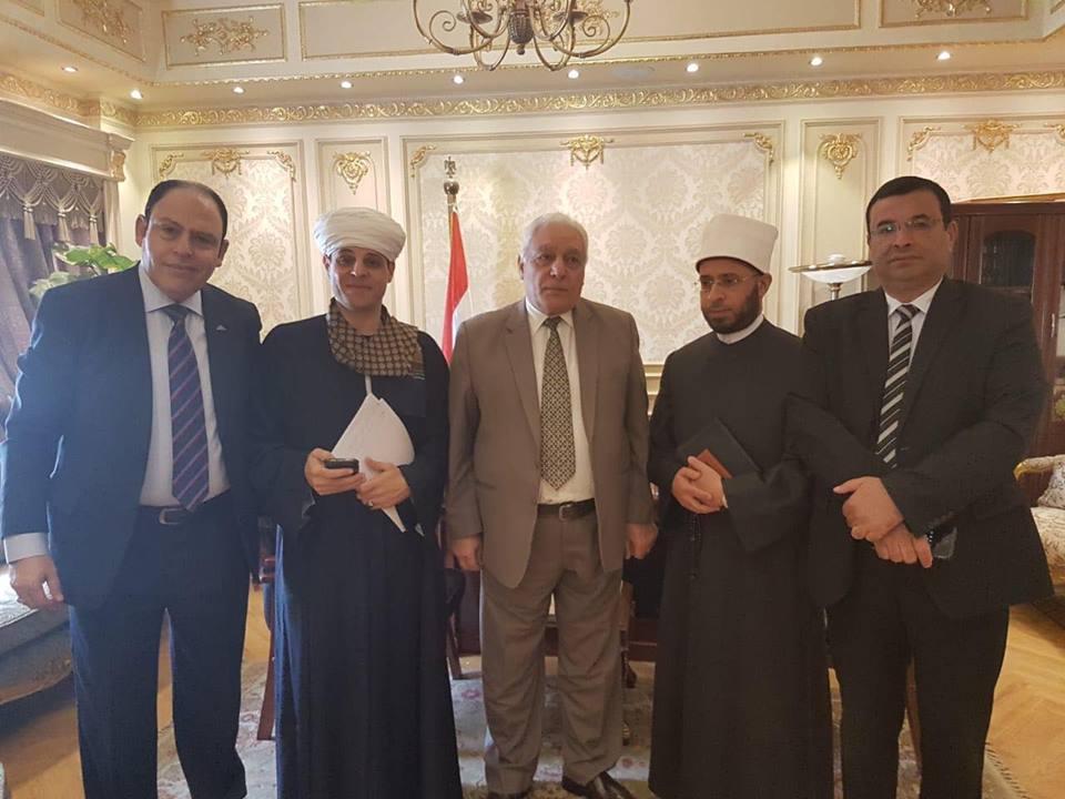 شاهد فرحة محمود ياسين التهامى بالموافقة على مشروع قانون نقابة الإنشاد الدينى اليوم السابع