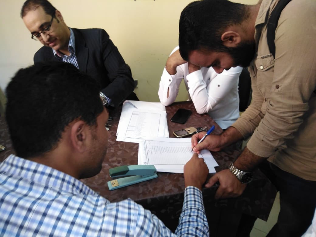 انتخابات اتحاد طلاب جامعة الفيوم (5)