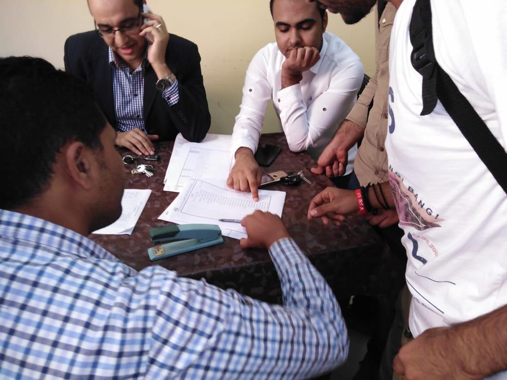 انتخابات اتحاد طلاب جامعة الفيوم (4)