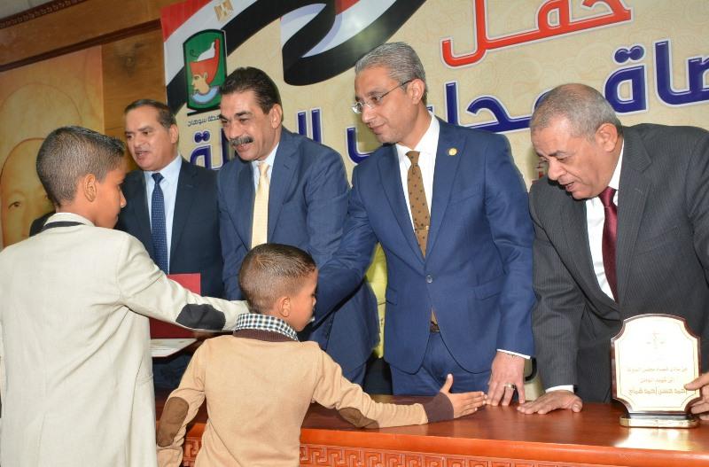 المحافظ يشهد حفل نادي قضاة مجلس الدولة لتكريم اسر الشهداء (7)