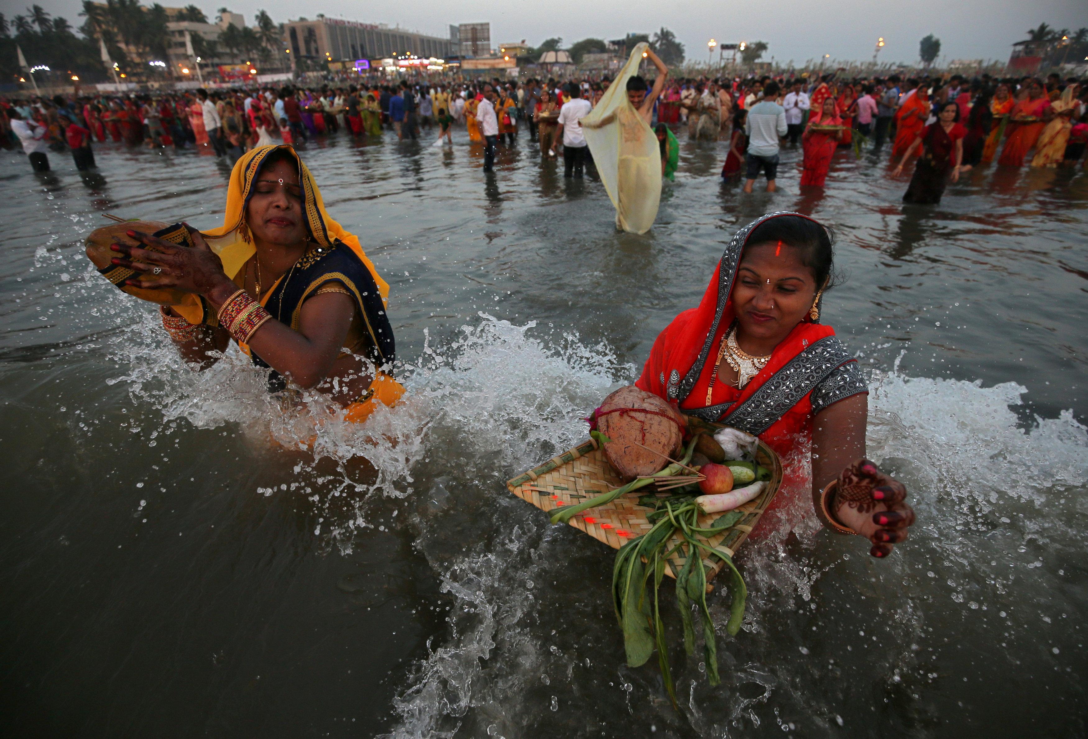 طقوس الاحتفال فى مومباى