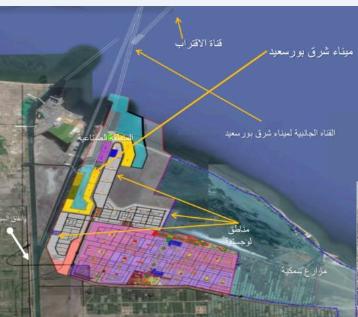 مخطط تطوير منطقة شرق بورسعيد
