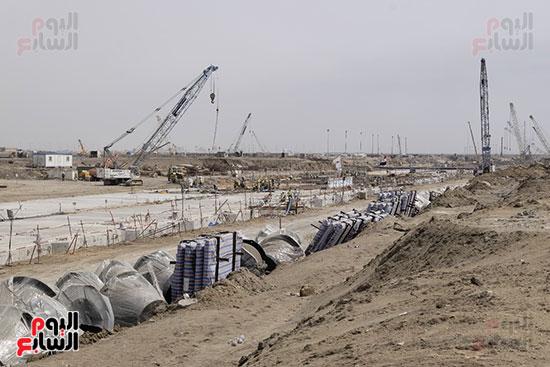 تنفيذ المرحلة الأولى من الرصيف الجديد تحت إشراف الهيئة الهندسية للقوات المسلح