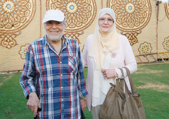 حسن-يوسف-وشمس-البارودي-بعمومية-الجزيرة-تصوير-كريم-عبد-العزيز-29-8-2017