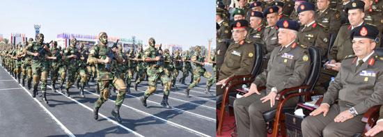 تخرج دفعة جديدة من الضباط المتخصصين بالكلية الحربية (1)