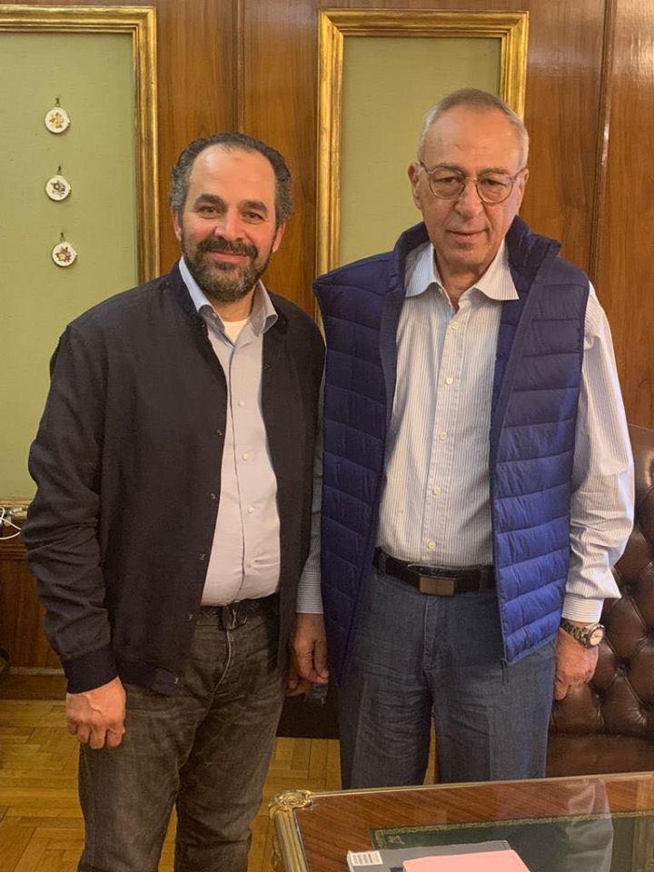 Mohammed Kamel and Ibrahim Osman