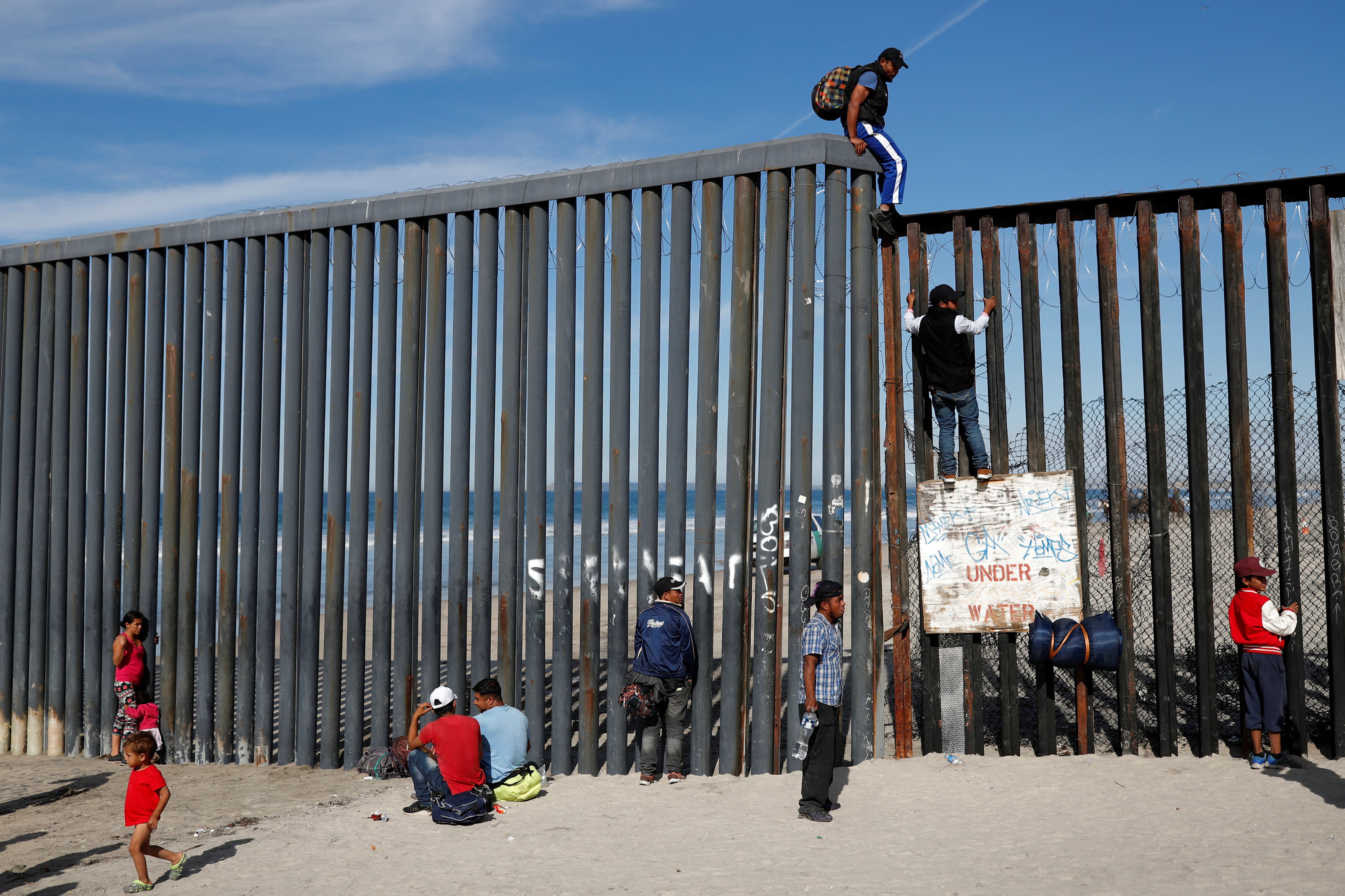 محاولات المهاجرين