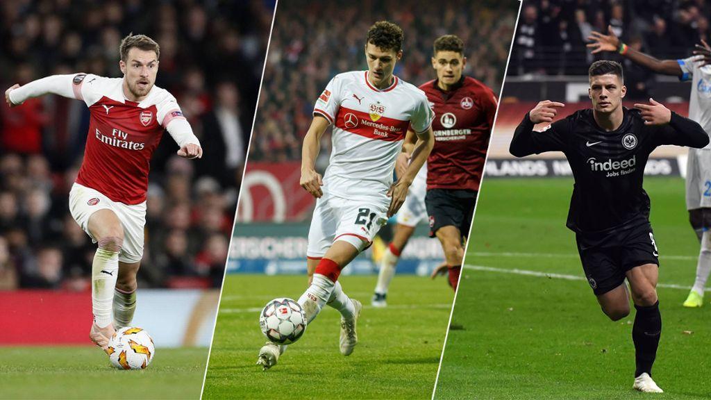 Ramsey, Pavard and Jović