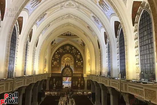 قداس تدشين الكاتدرائية المرقسية بالأنبا رويس بالعباسية (7)