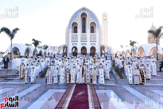 قداس تدشين الكاتدرائية المرقسية بالأنبا رويس بالعباسية (4)
