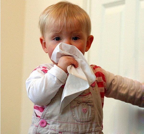 خطوات علاج نزلات البرد عند الاطفال