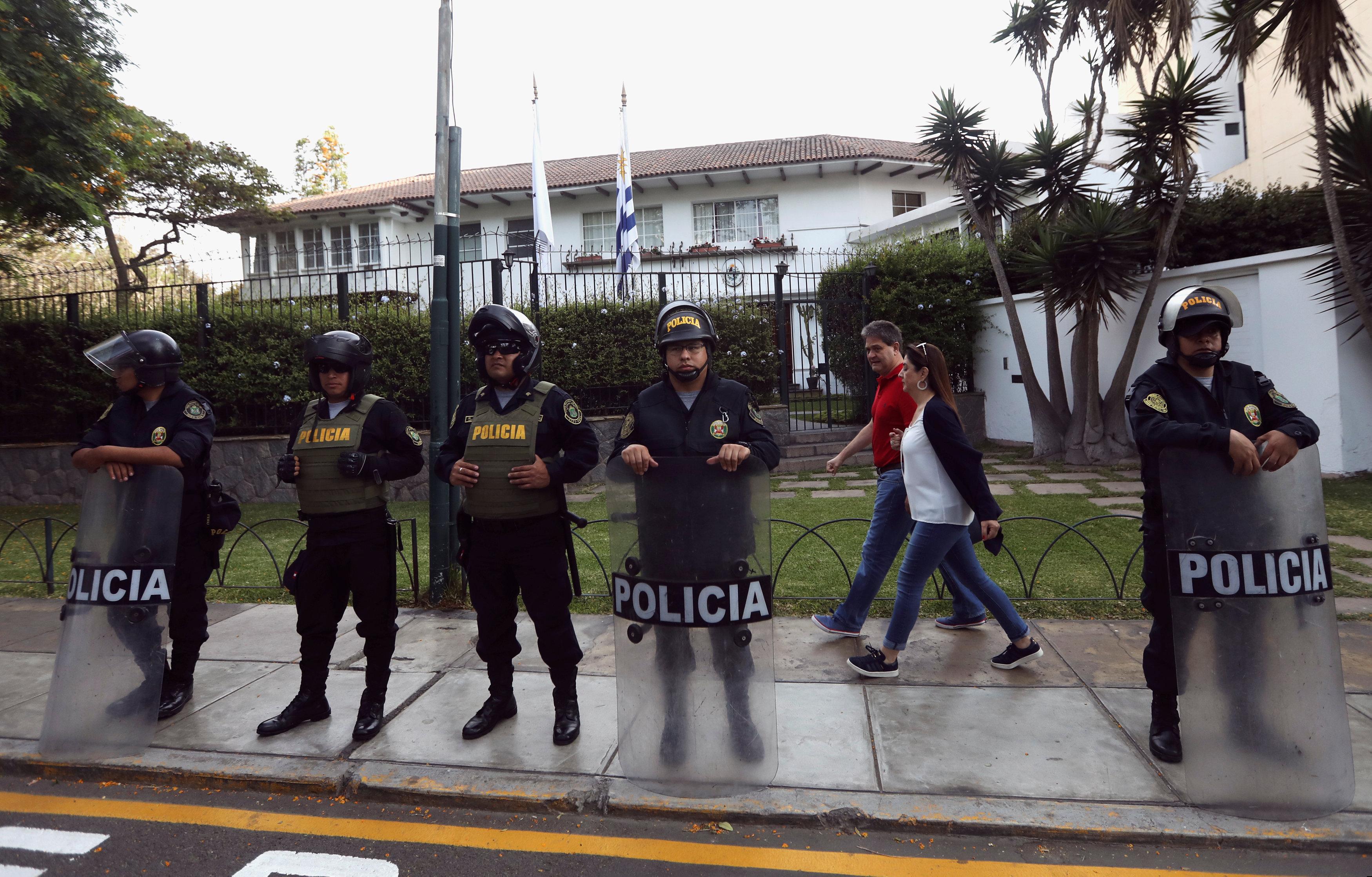 شرطة بيرو