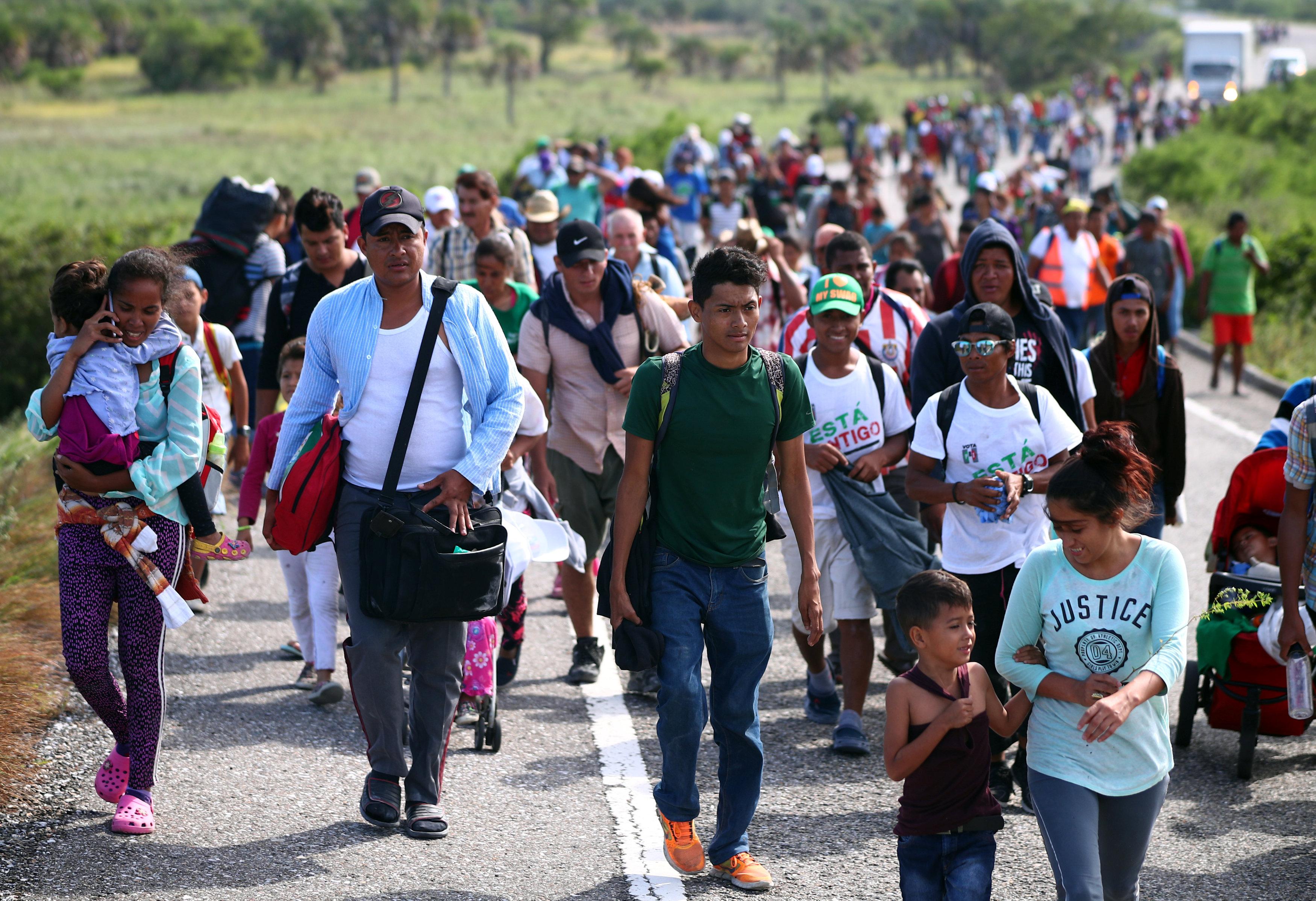 جانب من المهاجرين