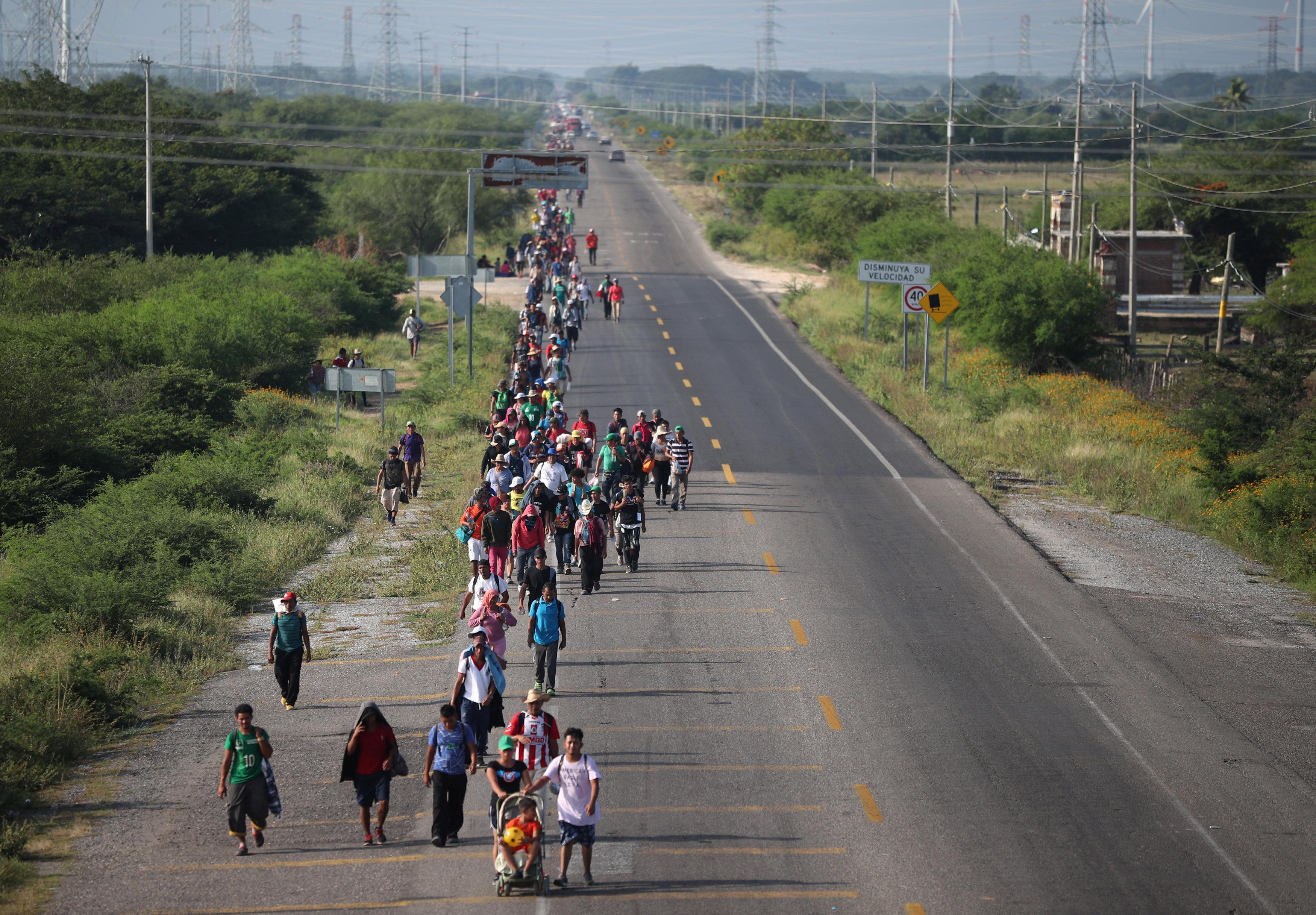 فرار المهاجرين