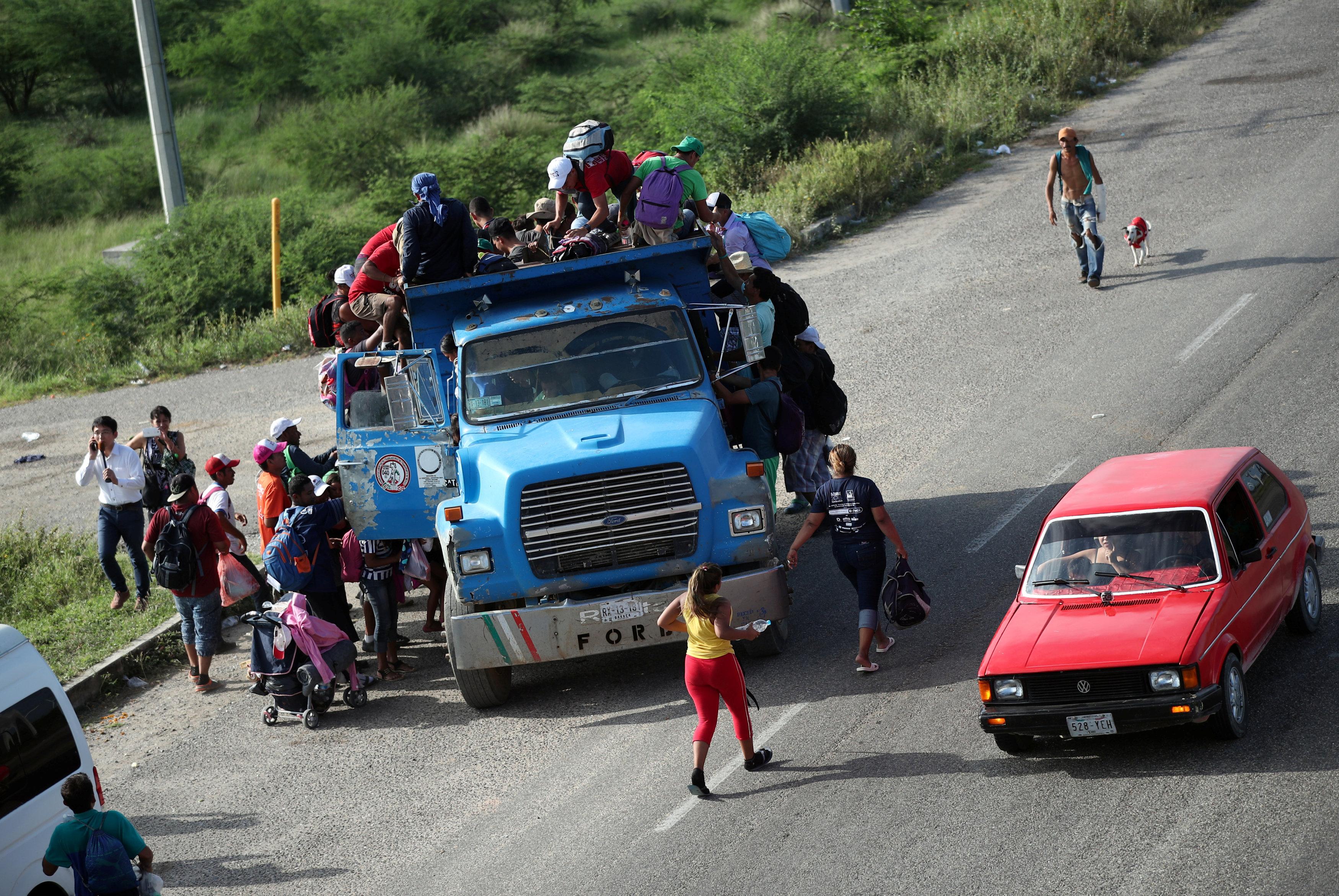 مهاجرون من السلفادور